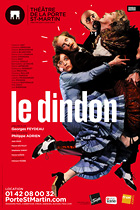 Affiche du spectacle : Le Dindon