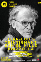 Affiche du spectacle : Trintignant Mille Piazzolla