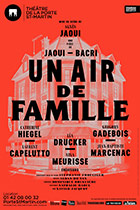 Affiche du spectacle : Un air de famille